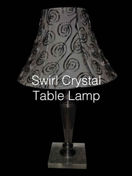 UK Supplier Of Luxury Crystal Table Lamps