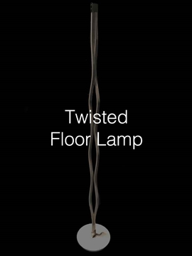 UK Supplier Of Luxury Crystal Twisted Floor Lamps