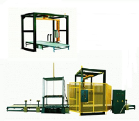 Rotary Arm Wrapper For Building Sector