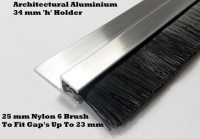 High Quality Garage Door Brush Strips For Construction Industries In Bedford