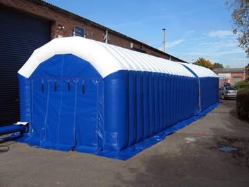 Supplier Of Inflatable Buildings For The Military