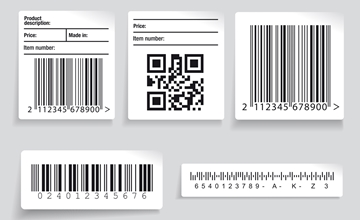 High Quality Barcode Labels