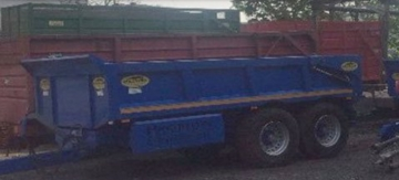 Agricultural Trailer For Hire Brecon