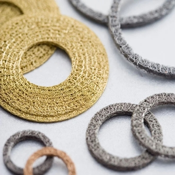 Compressed Knitted Wire Mesh Washers