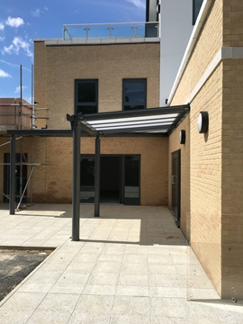 Commercial Entrance Canopies Designing Services
