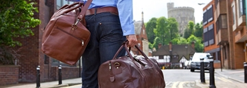Designers Of Branded Leather Holdall