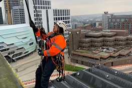 Rope Access Cleaning Solutions