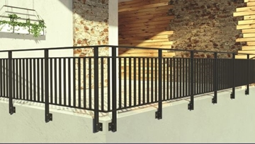 Milano Vertical Railings Systems