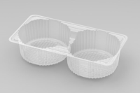 2 Cavity Large Biscuit Tray