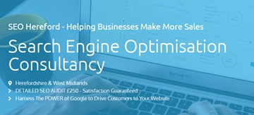 Search Engine Optimisation Consultancy Herefordshire