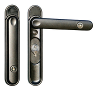 Q-Line Clearline CentreFold Handle - Anthracite Grey