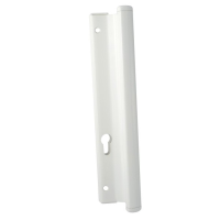 Replacement Patio Door Handles - White, 7mm Levers & Spindle