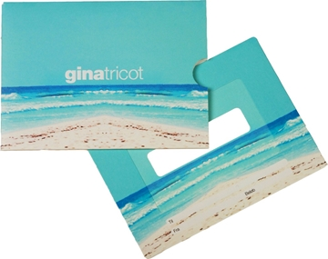 Gift Card Carriers For High Street Retailers