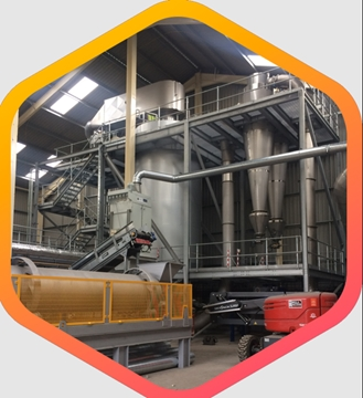 Spray Drying Systems For Recycling Powder Processing Plants