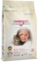 UK Sellers Of BonaCibo Kitten Food with Chicken (Anchovy & Rice)