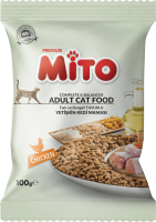 UK Supplier Of Sample 100GR Mito Adult Cat Chicken Adult Cat Food