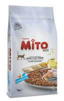 Mito Adult Cat Food with Chicken & Fish 6kg