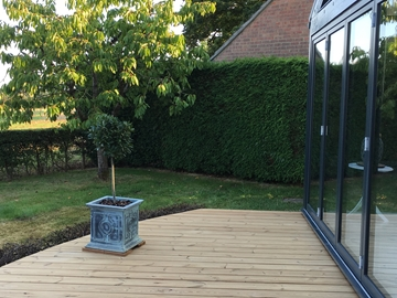 ThermoWood Softwood Pine Decking
