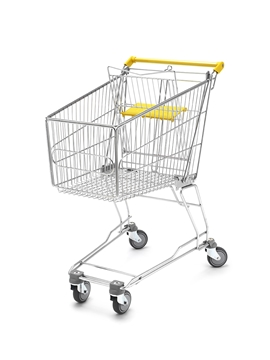 100 Litre Wire Shopping Trolley
