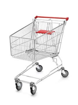 140 Litre Wire Shopping Trolley