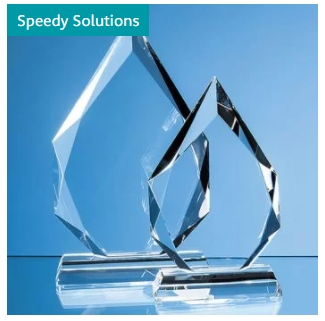 Angled Cylinder Awards and trophies