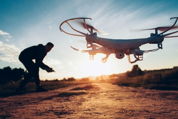Drone Surveying For Renewable Energy Sector