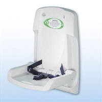 Toddler Safety Seat- Fold-down wall mounted seat
