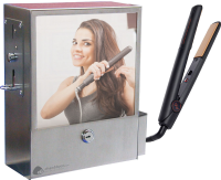 Wall Mounted Coin Operated Hair Straighteners Vending
