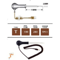 TP11 - T Type Reduced Tip Needle Probe 115mm x 2mm