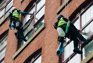 Commercial Window Cleaning Service North West