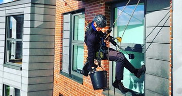Abseil Window Cleaning Manchester