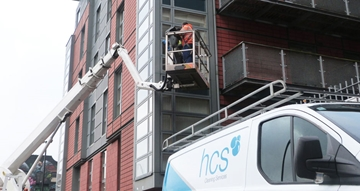 Commercial High Level Access Window Cleaning Manchester