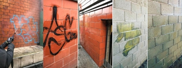 Graffiti Removal Services North West