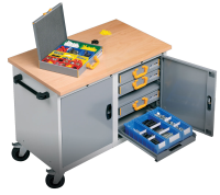 Mobile Workstation Tool Storage Solutions