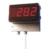 """5200 - 2"""" LED Wall Mount Thermocouple Thermometer"""