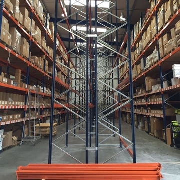 Reconfiguration Service Of Pallet Racking