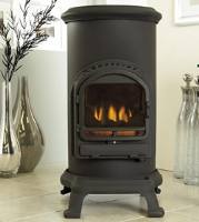 Thurcroft Real Flame Stove West Sussex