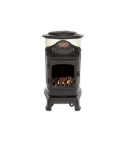 Provence Flame Effect Mobile Heaters - Cream Seaford