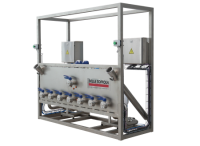Concentrate drum emptying systems