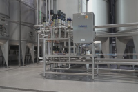 Blending of solutions containing piece Distributors