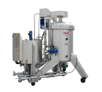 NF automatically discharged horizontal disk kieselgur filters for fruit juice Suppliers
