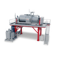 AMPELOS - INTELLIGENT, FULLY AUTOMATIC AND CONTINUOUS-FLOW PRESSING SYSTEM Manufacture