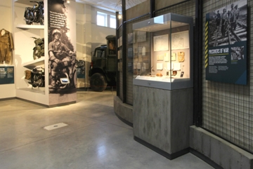 LED Freestanding Cases For Historic Artifacts