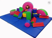 Giant Soft Play Set with Floor Matting