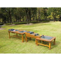 Outdoor Double Messy Table