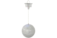 Mirror Ball with LED Lights