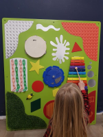 Tactile and Musical Wall Panel