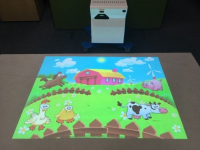 The Mobile Rise Interactive Projector System- for Floors