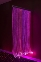 Fibre Optic Curtain with Swing Arm