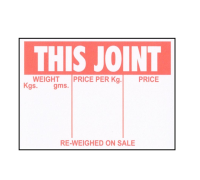 Display Cards / Tickets 'This Joint' (500 per box)